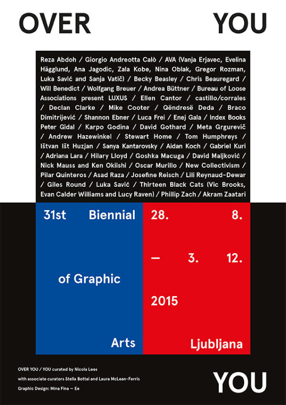 Over You, The 31st Biennial of Graphic Arts Lublijana
