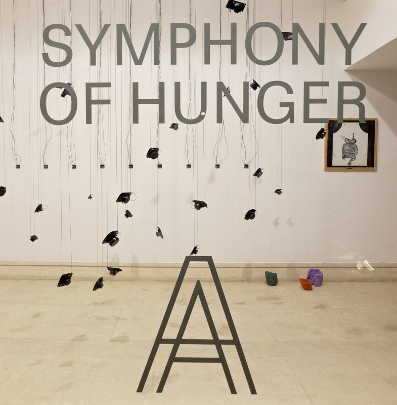 Symphony of Hunger, Installation view A plus A