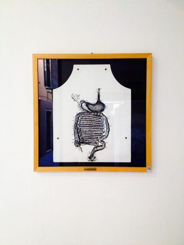 George Maciunas, Stomach Anatomy Apron, 1975