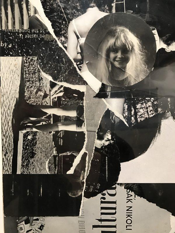 Milan Knížák, photo collage of performance, 1972