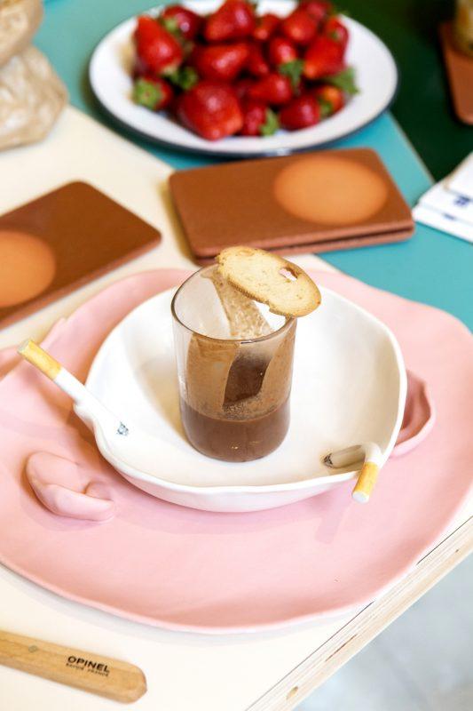 The Breakfast prepared by Olaf Nicolai