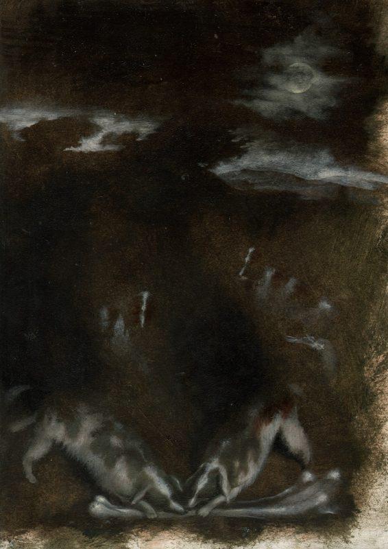 Paolo Pretolani, Il Biscotto (Pieter Bruegel il Vecchio), 2018