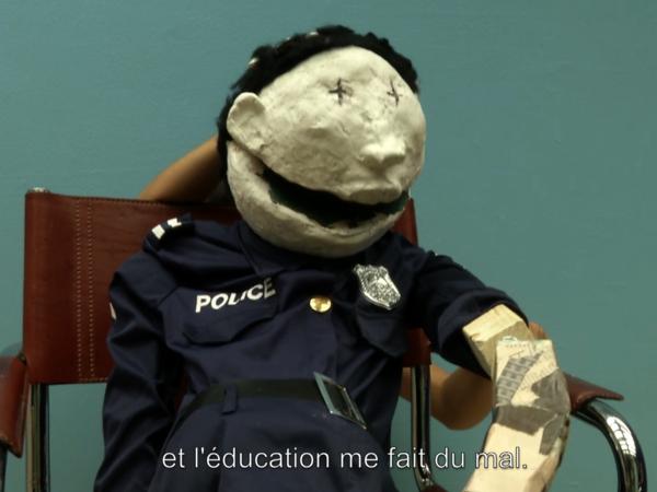 Polis-Polis, 2018, Video HD, 38.22 min (still)