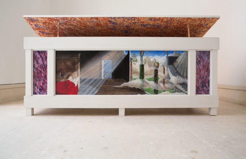 Installation view, Ri-, 2020