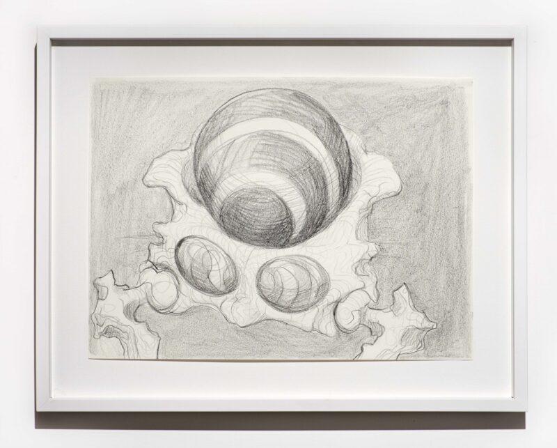 Beth Collar, Hip mobility drawing (brainiac), 2020